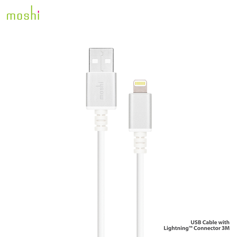 Кабель Moshi USB with Lightning Connector (3 м)