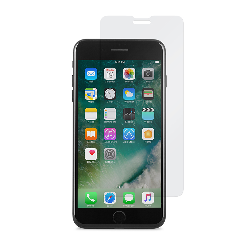 Стекло защитное для iPhone 7 Plus/8 Plus Moshi AirFoil Glass