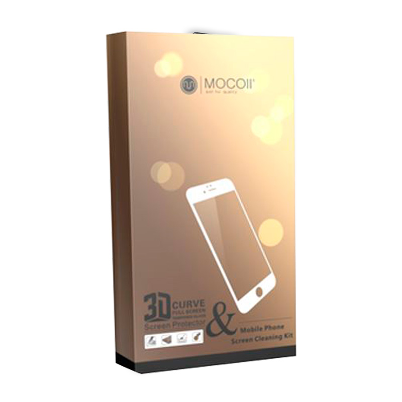 Защитное стекло для iPhone 7 Plus/8 Plus Mocoll 3D Gold Diamond Standart
