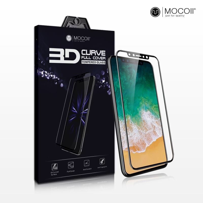 Защитное стекло для iPhone 7 Plus/8 Plus Mocoll 3D Pearl Standart